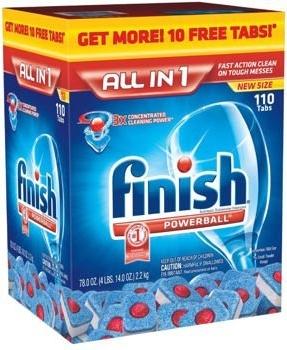 viên rửa bát finish all in one tất cả các chức năng trong 1 viên