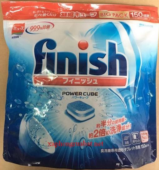 Bộ sản phẩm rửa chén finish sản phẩm được các chuyên gia khuyên dùng