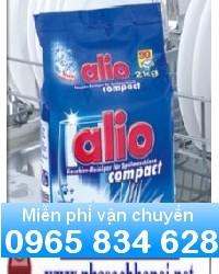 Bán bột rửa bát Alio chuyên dụng cho máy rửa bát cao cấp, giá rẻ