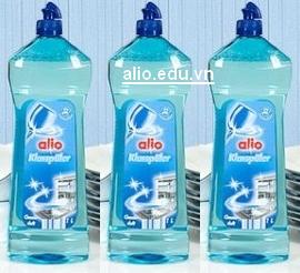 nước làm bóng alio chuyên dùng cho máy rửa bát