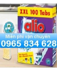 Bán Viên rửa chén Alio loại 100 tabs dùng cho máy rửa bát Gia đình