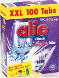 viên rửa bát alio 100 tabs
