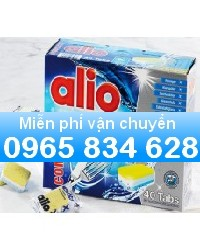 Phân phối Viên rửa bát chén Alio loại 10 tính năng ( 80 viên ) dùng cho máy rửa bát gia đình
