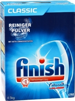 Bột xà bông rửa chén finish