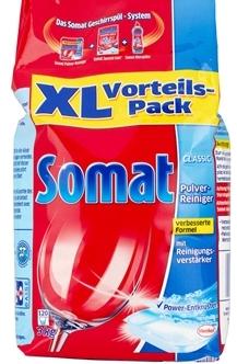 Bột rửa bát Somat tiêu chuẩn chất lượng mới