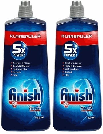 Nước làm bóng finish 1150ml chuyên dùng cho máy rửa bát