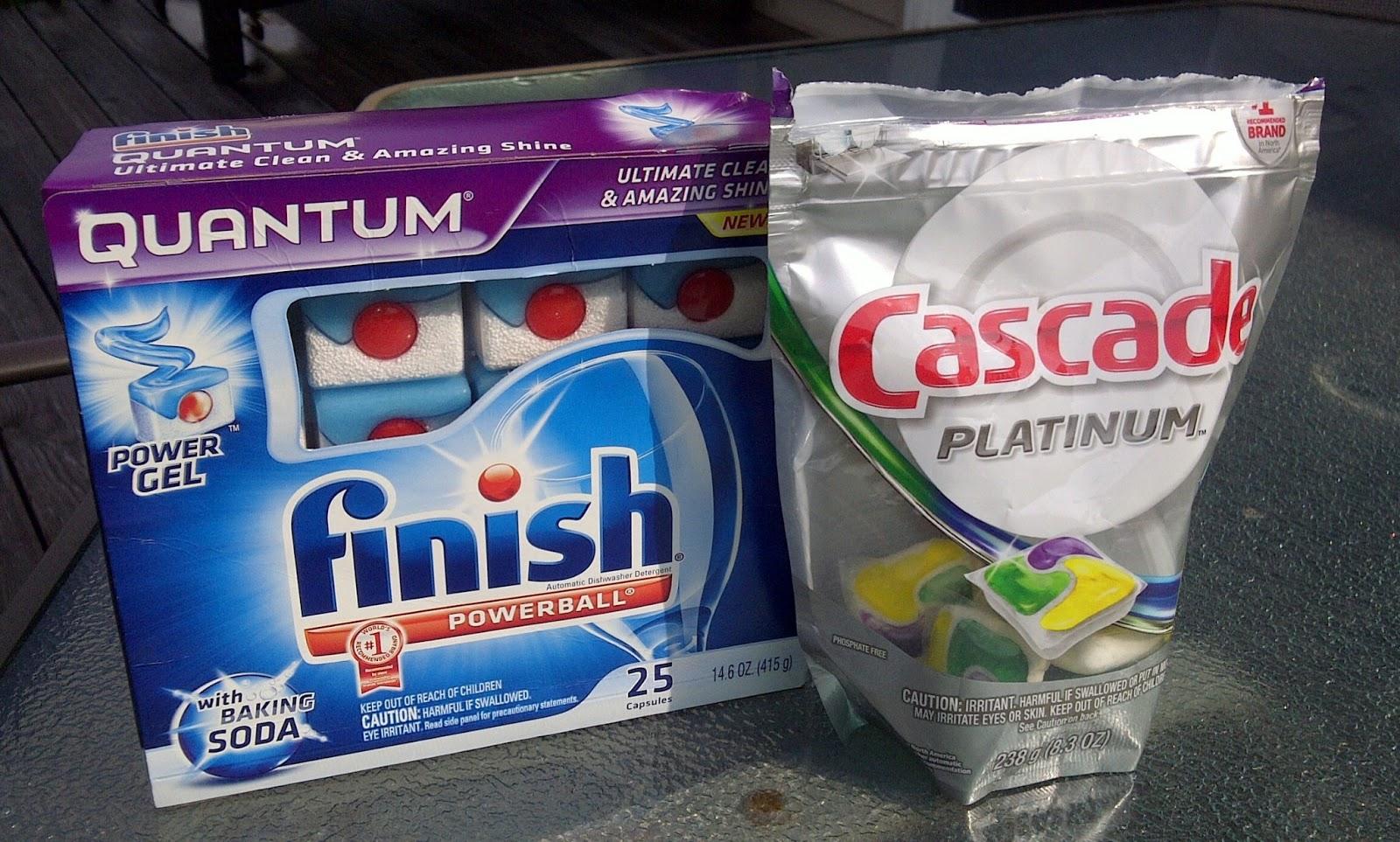 Xà phòng rửa chén cascade – finish sự lựa chọn thông minh cho máy rửa chén