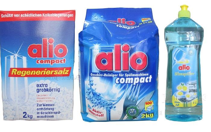 Bộ ba sản phẩm rửa chén đĩa alio cho công việc rửa chén hoàn hảo