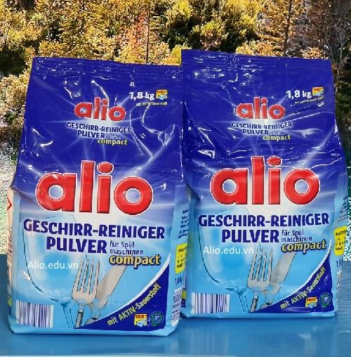 bột rửa bát alio pulver nhập khẩu đức loại 3,6kg